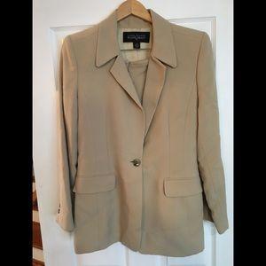 LINDA Allard Ellen Tracy Skirt Suit Jacket Blazer